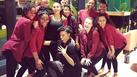 Artistry Youth Dance group. Picture: Supplied