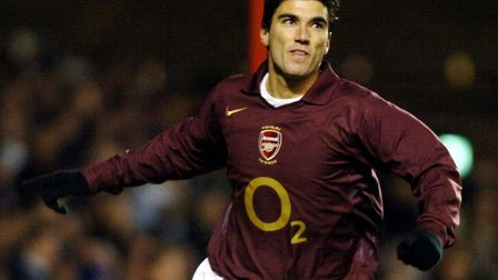 File photo dated 29-11-2005 of Arsenal's Jose Antonio Reyes. Picture: Sean Dempsey/PA