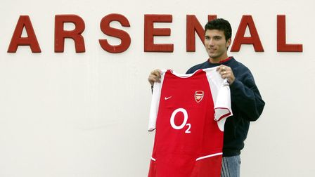 File photo dated 30-01-2004 of Jose Antonio Reyes the Spanish International striker, who signed for