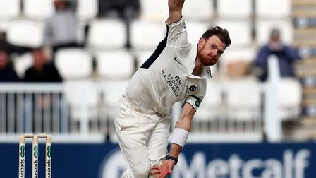 James Harris took four wickets as Middlesex were put to the sword by Sussex (pic Bradley Collyer/PA)