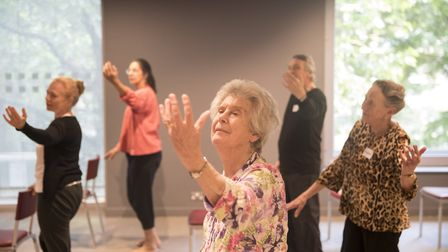 The group gives dancers aged 60-90 the chance to rehearse every week. Picture: Johan Persson.