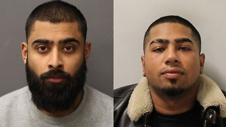 [Musthafa Ali (l) and Mizan Ali (r)] have been jailed for defrauding elderly victims. Picture: Met