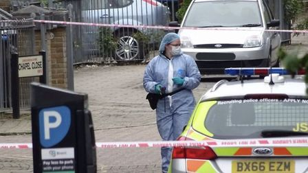 Man stabbed multiple times in Chapel Close. Picture: David Nathan