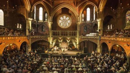 Union Chapel has been hosting music and comedy events since 1992. Picture: Daniela Sbrisny.