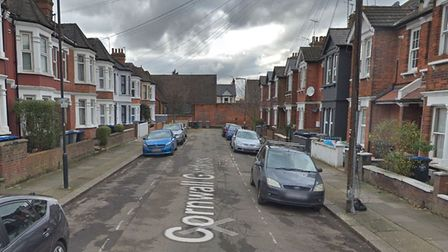 A man was multiply stabbed in Cornwall Gardens, Willesden Green. Picture: Google