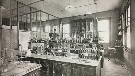 The old science lab at the school.
