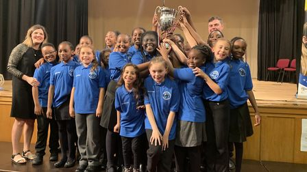 Chalkhill Primary School crowned Brent Choir of the Year. Picture: Brent Music Service
