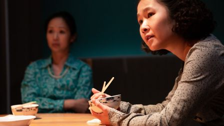 Linh-Dan Pham Anna Nguyen Summer Rolls at Park Theatre picture by Dante Kim