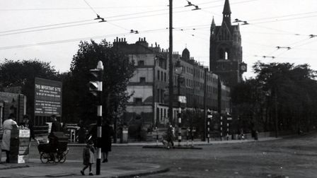 'They cleared the mess up as soon as possible': Highbury Corner and Compton Terrace was already back