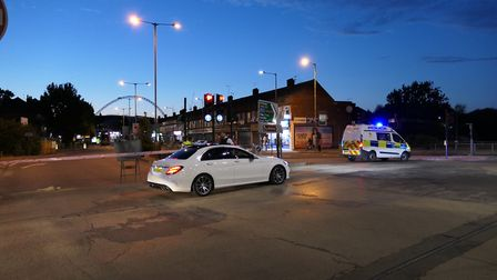 Man gunned down in Harrow Road. Picture: David Nathan