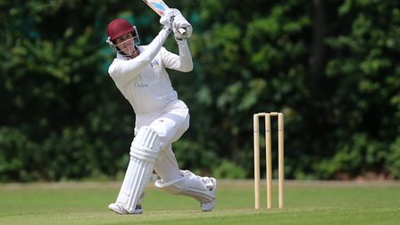 William Bowley of Highgate in batting action in the Middlesex County Division Two (pic: George Phill