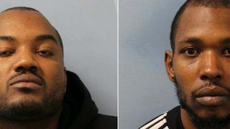 Brothers Aston and Denzil Rochester. Picture: Met Police