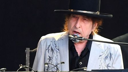 Bob Dylan performs as part of a historic double bill with Neil Young at Hyde Park on July 12, 2019 i