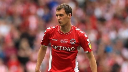 Charlton Athletic's Krystian Bielik during the Sky Bet League One Play-off final at Wembley Stadium,