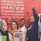 The Shelter team frrom Holloway Road. Picture: Shelter