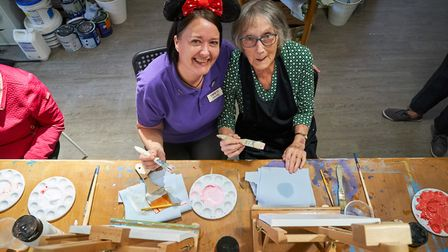 The care homes are opening their doors for a day of family fun. Picture: Simon Jacobs