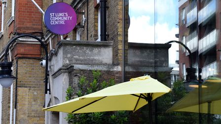St Luke's Community Centre in Central Street. Picture: Polly Hancock