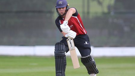 Joe Cracknell while on batting duty for North Middlesex (pic: George Phillipou/TGS Photo).