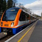 One of the new Overground trains on the Barking to Gospel Oak route. Picture: TfL