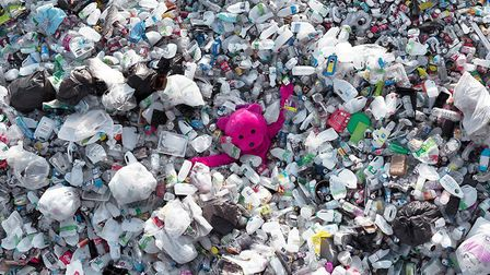 The Plastic Flood. Picture: Paul Robinson.