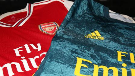 The Arsenal kit launch at The Armoury, Emirates Stadium, London. Picture: DANNY LOO