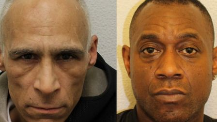 Steve Dillon and Schaka Powell. Picture: Met Police