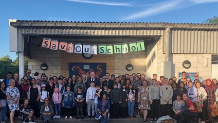 Barry Gardiner MP supports Roe Green Strathcona staff and pupils against school closure consultation