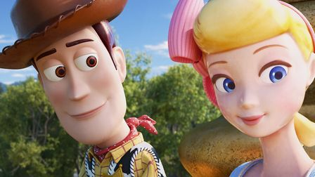 Tom Hanks once again charms as the voice of Woody, 24 years after the original. Picture: Pixar.