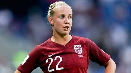 England's Beth Mead during the FIFA Women's World Cup, Group D match at Stade Oceane, Le Harve. Pict