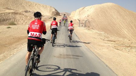 Medical Aid for Palestinians has all sorts of challenges you can sign up to. Their fundraising team