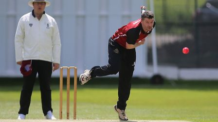 North Middlesex captain Joel Hughes in full flow (pic: George Phillipou/TGS Photo).