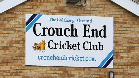Crouch End signage at Calthorpe (pic: Gavin Ellis/TGS Photo).