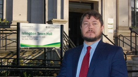 Cllr Andy Hull. Picture: Islington Council
