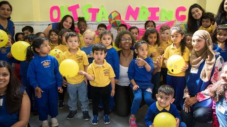 Brightstart Childcare and Education celebrates an outstanding inspection. Picture: Jonathan Goldberg