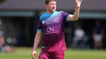 Hampstead's opening bowler Rich Banham helped his team to victory over North Middlesex (pic: George