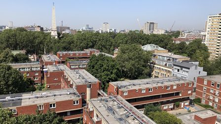 View from over Redbrick Estate. Picture: Kate Robson