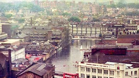 City Road Basin early 1970s. Picture: Bernard James