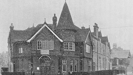 Willesden Green Library after 1907 extension. Picture: Brent Archives