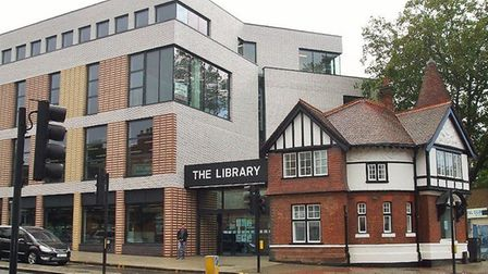 Willesden Green Library in 2019. Picture: Philip Grant