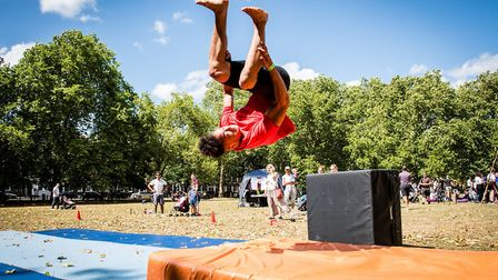 This year's Go Islington festival returns to Highbury Fields. Picture: Em Fitzgerald