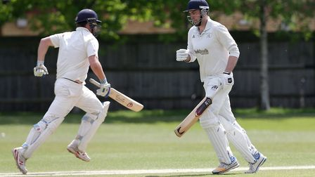 Brondesbury add to their total in the reverse game against Finchley earlier this season. Picture: Ga