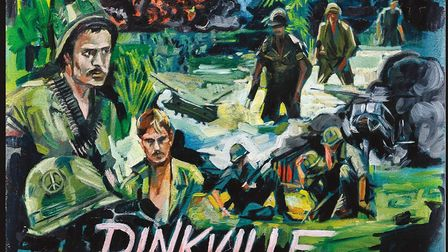 Album cover for Pinkville, which is out now.