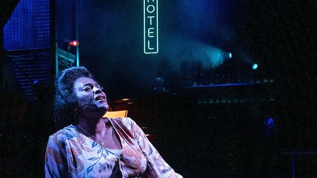 Sharon D Clarke as The Lady in Blues in the Night at Kiln Theatre picture by Matt Humphrey