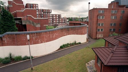 Holloway Prison pictured in the late 1990s while still a functioning jail. Picture: Rebecca Naden