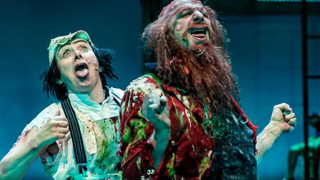 Helena Lymbery and Steve Furst in Mr Gum and the Dancing Bear - the Musical! (c) TheOtherRichard