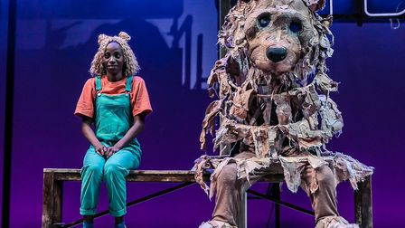 Keziah Joseph and Kate Malyon in Mr Gum and the Dancing Bear - the Musical! (c) TheOtherRichard