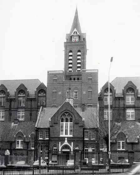 Whittington Hospital in the 1980s. Picture: Islington Local History Centre