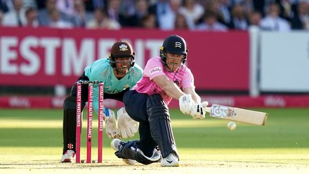 Middlesex's Eoin Morgan during the T20 Vitality Blast match at Lord's, London.