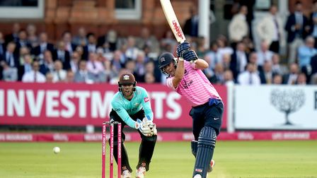 Middlesex's A.B. de Villiers during the T20 Vitality Blast match at Lord's, London.