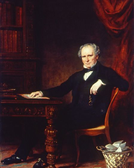 Frederick Salmon, founder of St Mark's Hospital. Picture: Dickens Museum